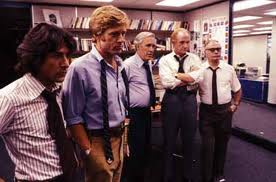 All the President's Men Washington Post newsroom